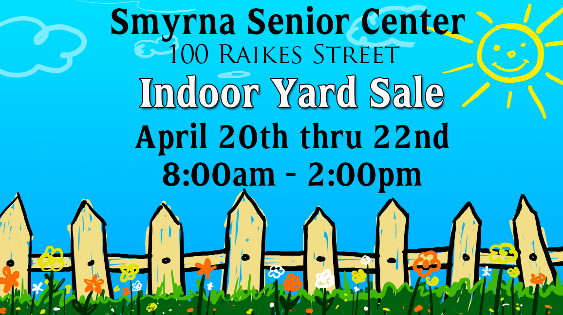 Senior Center Yard Sale