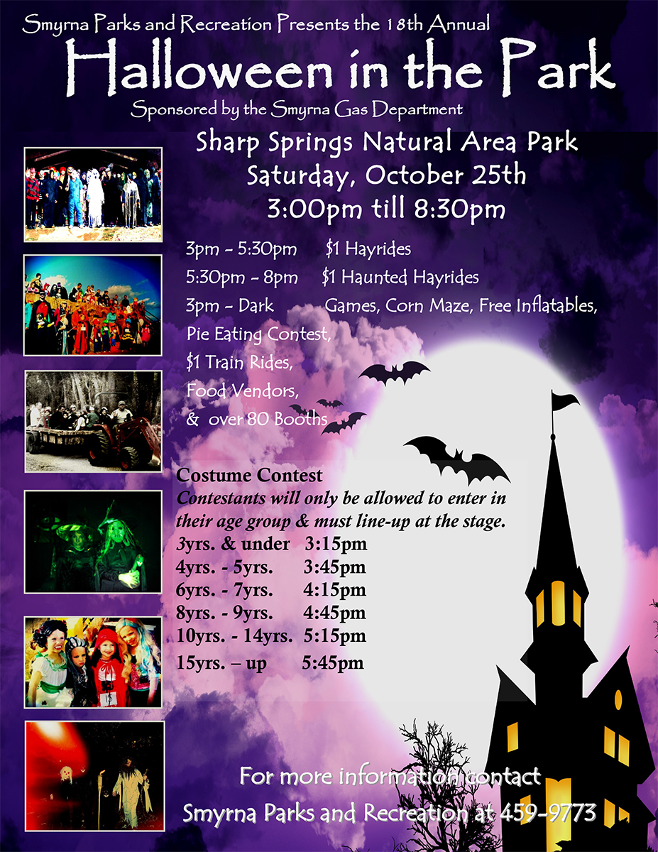 Halloween In The Park Smyrna Tn 2020 Halloween in the Park   Calendar   Smyrna, TN