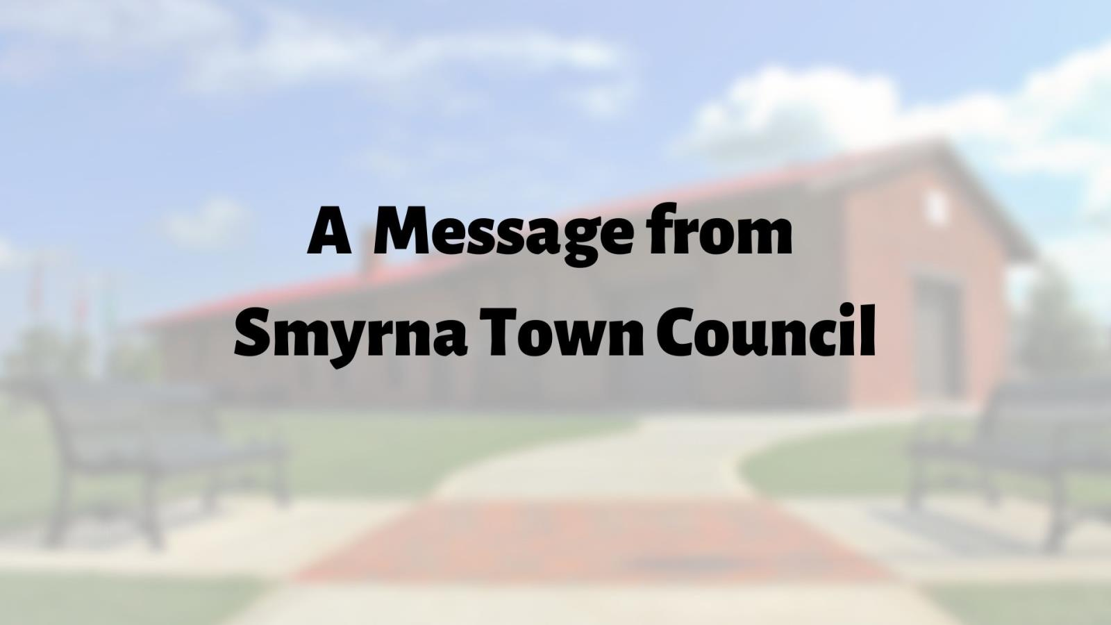 A Message from Town Council_THUMB