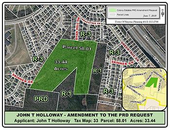Map REZONING - John T Holloway - Colony Estates PRD Amendment - 2018-06_web